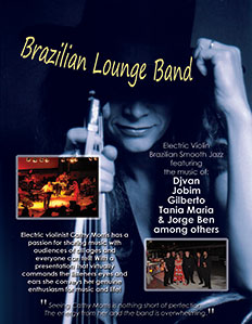 brazilian band flyer sm